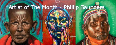 artist of the month - phillip saunders 2