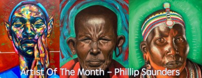 artist of the month - phillip saunders
