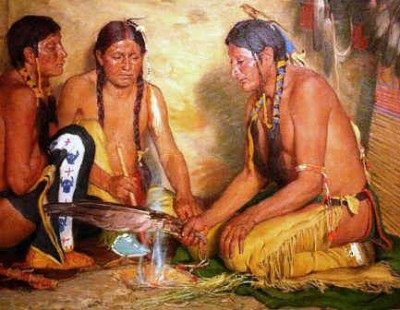 native smudging